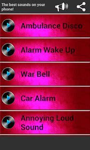 loud alarm sounds android apps  google play