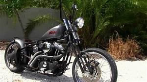 Bobber Harley Davidson : used 2003 harley davidson xl883 custom bobber motorcycle for sale youtube ~ Medecine-chirurgie-esthetiques.com Avis de Voitures
