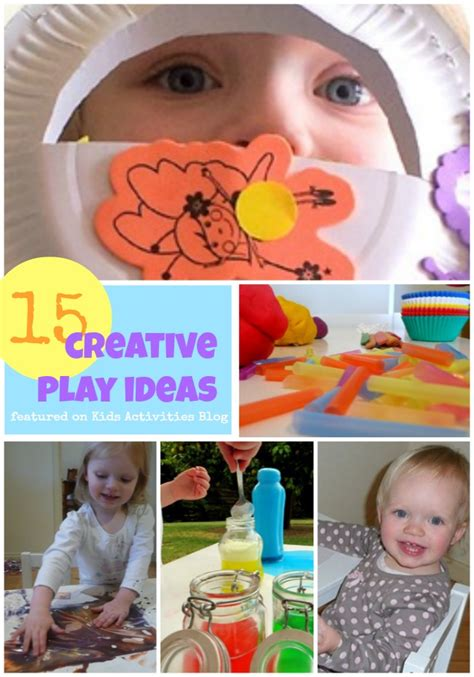 15 Creative Play Ideas For Kids {and Moms!}