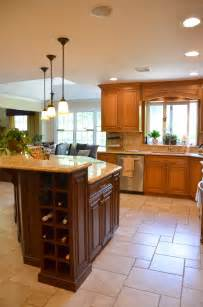 custom made kitchen islands two tone kitchen manasquan jersey by design line kitchens