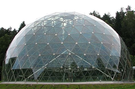 cupola structure dome of merkinė aluminium and glass construction pavilion