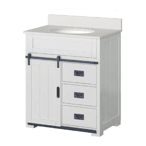 style selections morriston   white single sink