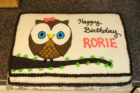 owl cakes decoration ideas  birthday cakes