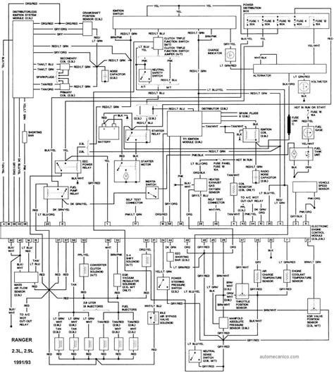 93 Ford Tempo Fuse Box Diagram by Ford Maverick Ignition Wiring Auto Electrical Wiring Diagram
