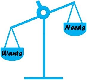 Difference Between Needs And Wants (with Comparison Chart)  Key Differences