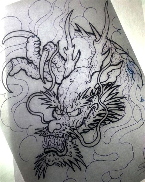 Tatouage Tete De Dragon Japonais