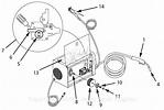 Campbell Hausfeld WG4130 Parts Diagram for Arc-Welder Parts