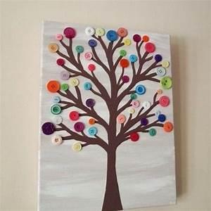 Kreativ Im Herbst : knopfbaum kreativ mit kindern im herbst pinterest ~ Lizthompson.info Haus und Dekorationen