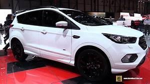 Ford Kuga 2018 : 2018 ford kuga exterior and interior walkaround 2018 geneva motor show youtube ~ Maxctalentgroup.com Avis de Voitures