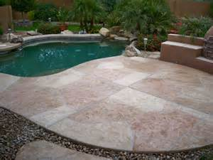 pin flagstone pool deck phoenix az resurfacing on pinterest