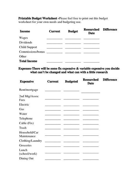 financial budget spreadsheet template excelxocom