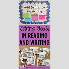 Setting Goals For Reading And Writing  Mrs Beattie's Classroom