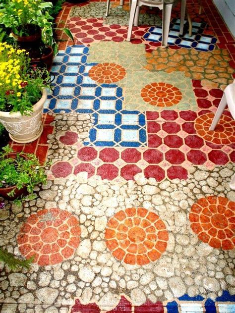 14 Amazing Painted Floors   DIY Home Decor Ideas