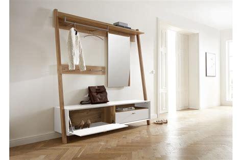 Meuble D'entrée Vestiaire Pin Blanc Trendymobiliercom