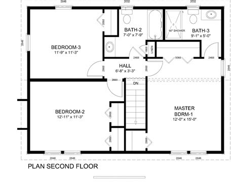 center colonial floor plans colonial home floor plans georgian colonial house plans