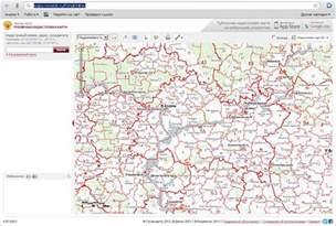 Публичная карта краснодарского края