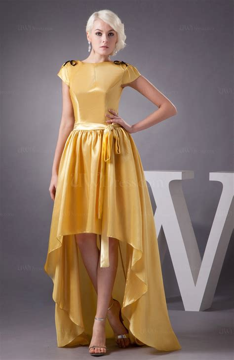 light yellow vintage homecoming dress unique