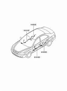 2009 Hyundai Sonata Old Body Style Miscellaneous Wiring