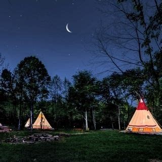 authentica canap teepee cing at canopy tours
