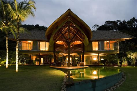 tropical houses design unusual tropical house design leaf house in brazil digsdigs