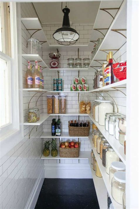 There are so many items to group together, it seems like it will never be orderly. 10 Inspiring Pantry Designs - Tinyme Blog