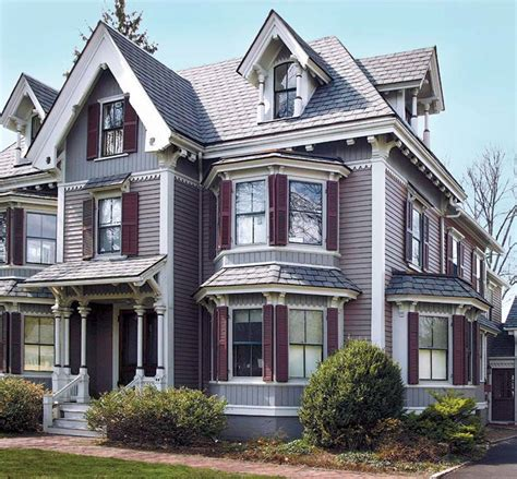 New Victorian House Paint House Style Design Stylish