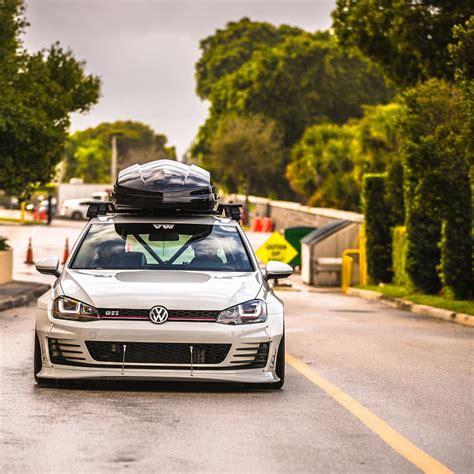 Volkswagen Golf Modification by Volkswagen Gold Mk7 Gti Rs Rocket Bunny Wide