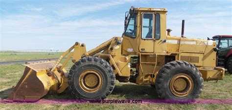 Fiat Allis Wheel Loader by 1987 Fiat Allis Fr15b Wheel Loader Item F1775 Sold