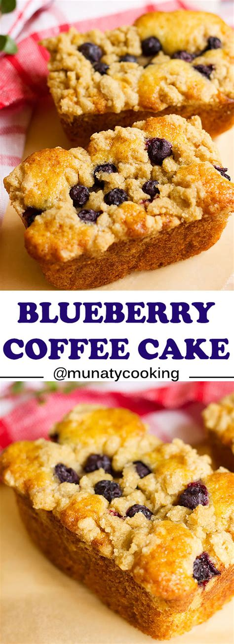 Ideal for breakfast, brunch, dessert, or as a snack to savor with coffee, it's a recipe you'll make more than once. Easy Mini Blueberry Coffee Cake Loaves Recipe - Munaty Cooking