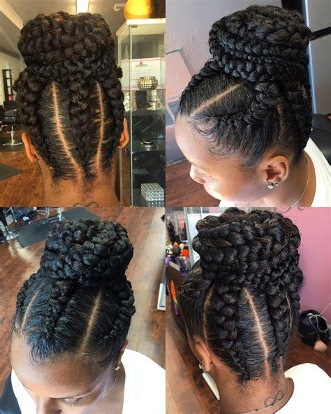 goddess braids updo hairstyles fade haircut