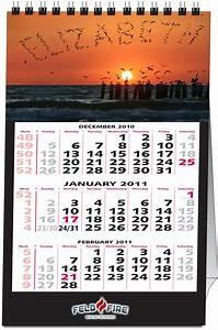 Month Calendars 2020 Personalized Name Desk Calendar