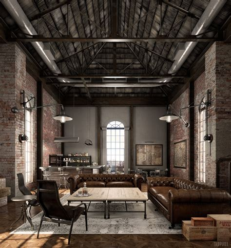 Home Design Ideas Easy by Industrial Style Living Room Design The Essential Guide