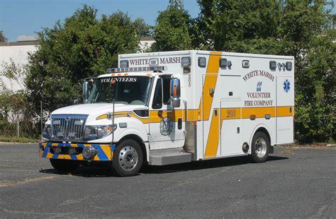 md white marsh volunteer fire company