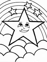 Rainbow Coloring Pages Printable Cute sketch template