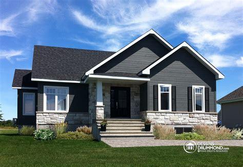 couleur de maison tendance exterieur plain pied craftsman aux couleurs et mat 233 riaux tr 232 s tendance