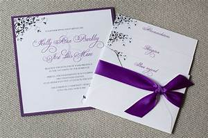 square wedding invitations purple wedding invitations With wedding invitation designs violet