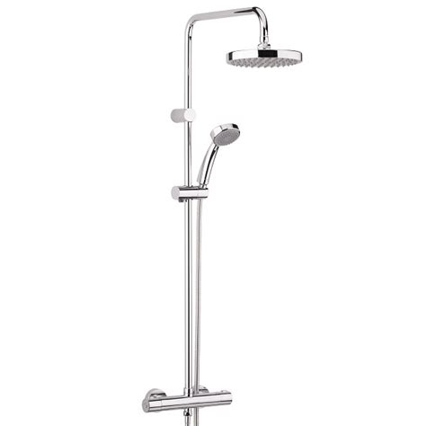 bristan carre exposed fixed head bar shower diverter