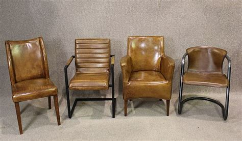 antique leather chairs antique furniture