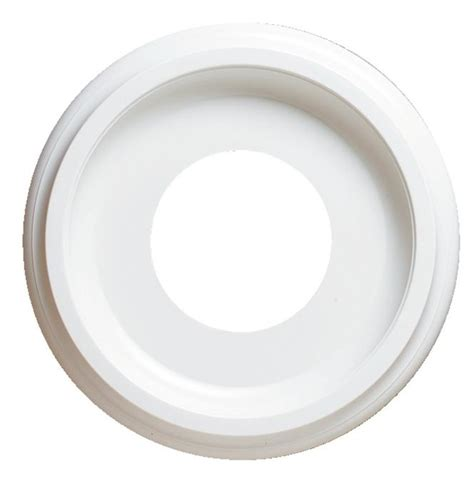 westinghouse split ceiling medallion westinghouse lighting 7703700 smooth white finish ceiling