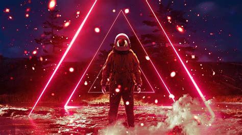 vaporwave synthwave virtualreality retrowave astronaut 4k