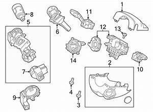 Ford Explorer Cylinder  Ignition  Lock  And Keys  Assembly