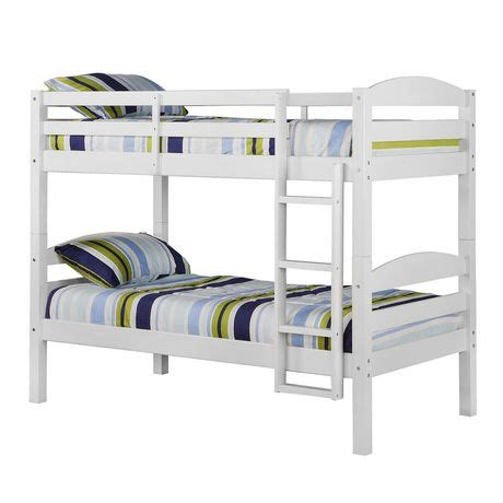 Walmart Wood Bunk Beds by Solid Wood Bunk Bed White Walmart Ca