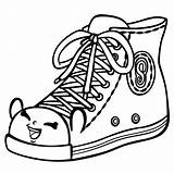 Coloring Heel Pages Shoes Printable Getcolorings sketch template