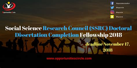 social science research council ssrc doctoral