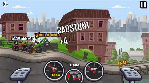 hill climb racing monster truck monster truck fully upgraded race glitch hill climb