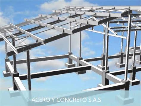 estructura metalica acero  concreto sas youtube