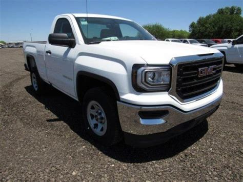 2017 White 4 Door Gmc 1500 by Gmc 1500 Bed For Sale Used Cars On Buysellsearch