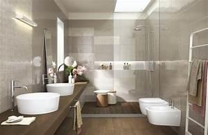 palette couleur salle de bain decorer avec la couleur marron With porte de douche coulissante avec quel parquet choisir pour une salle de bain