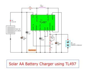 Simple Battery Solar Charger Circuit Eleccircuit