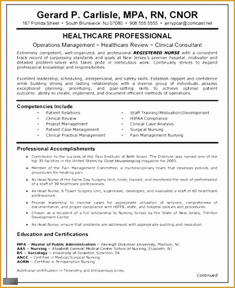 nursing curriculum vitae templates  samples